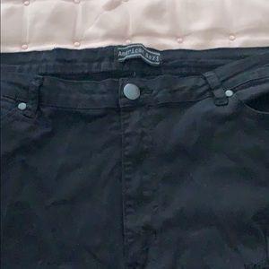 American Bazi Jeans - Distress Slim Leg Jeans